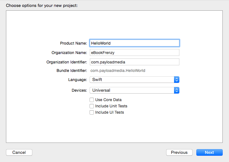Xcode 7 project options.png