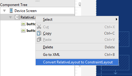 Converting a layout to ConstraintLayout