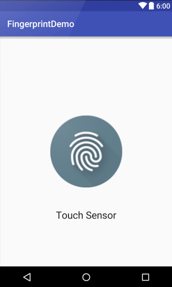 An Android Fingerprint Authentication Tutorial - Techotopia