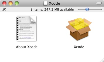 The contents of the Xcode and iOS 5 SDK .dmg image