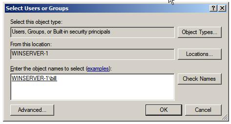 Managing Remote Print Servers Windows_server_2008_select_users_and_groups