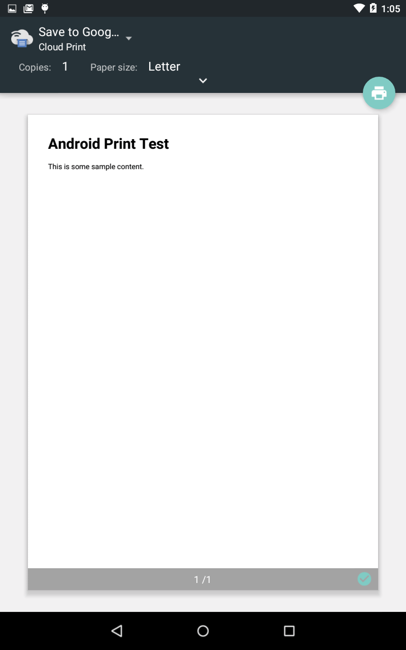 An Android Studio HTML and Web Content Printing Example