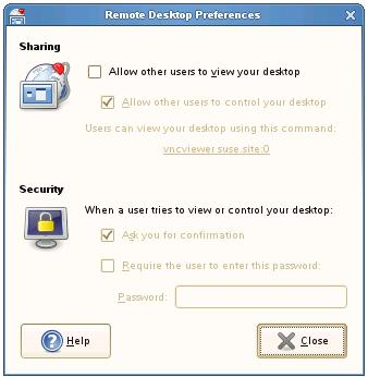 Configuring Remote Desktop Access on an openSUSE system