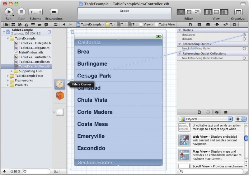 File:Xcode 4 table view connect datasource.jpg