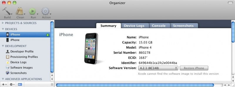 File:Ios 4 xcode getting UDID.jpg