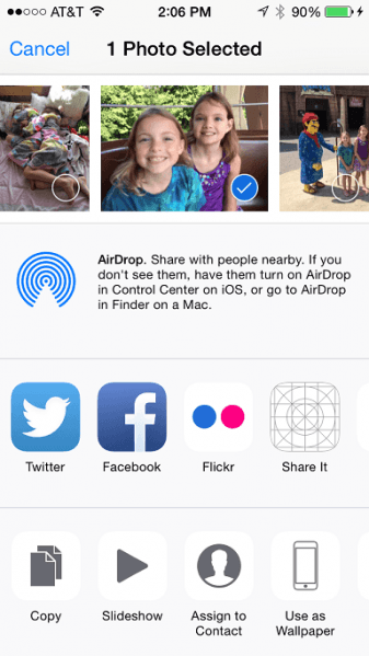 File:Ios 8 share extension in view.png